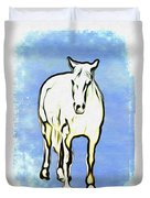 The Horse Duvet Cover by Bill Cannon