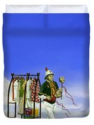 The Journey Of A Performer Duvet Cover by Cindy D Chinn