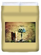 The Love Letter Duvet Cover by Bill Cannon