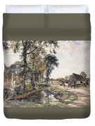 The Manor Farm Duvet Cover by Mark Fisher