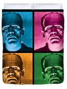 The Monster X 4 Duvet Cover by Gary Grayson