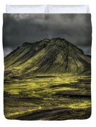 The Mountain Pass Duvet Cover by Evelina Kremsdorf