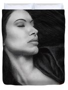 The Offering Duvet Cover by Pat Erickson