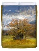 The Old Oak Tree Duvet Cover by Debra and Dave Vanderlaan