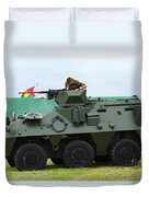 The Pandur 6x6 Family Of Wheeled Duvet Cover by Luc De Jaeger
