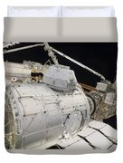 The Pressurized Mating Adapter 3 Duvet Cover by Stocktrek Images