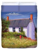 The Red Milk Churn Duvet Cover by Anthony Rule