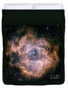 The Rosette Nebula Duvet Cover by Charles Shahar