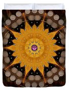 The sun will rise with light and love Duvet Cover by Pepita Selles