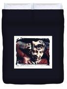 The Third Eye Polaroid Transfer Duvet Cover by Jane Linders