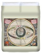 The Universe Of Brahe Harmonia Duvet Cover by Science Source