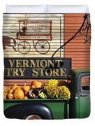 The Vermont Country Store Duvet Cover by John Greim
