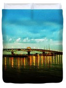 The York River Duvet Cover by Bill Cannon
