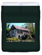 This Old House Duvet Cover by Eva Kaufman