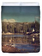 Time Always Reveals Duvet Cover by Laurie Search
