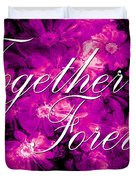 Together Forever Duvet Cover by Phill Petrovic