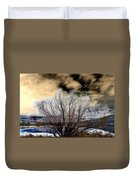 Touch Of Frost Duvet Cover by Will Borden