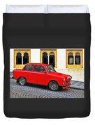 Trabant Ostalgie Duvet Cover by Christine Till