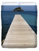 Tranquility  Duvet Cover by Lainie Wrightson