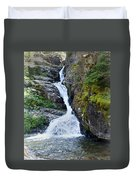 Tricky Falls Duvet Cover by Marty Koch