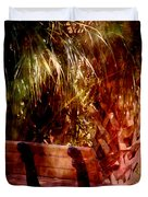Tropical Bench Duvet Cover by Susanne Van Hulst