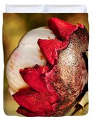 Tropical Mangosteen - Ready To Eat Duvet Cover by Kaye Menner