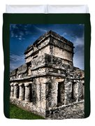 Tulum Ruinas 1 Duvet Cover by Skip Hunt