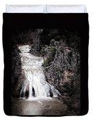 Turner Falls Roar Duvet Cover by Tamyra Ayles