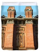 Uc Berkeley . South Hall . Oldest Building At Uc Berkeley . Built 1873 . 7d10109 Duvet Cover by Wingsdomain Art and Photography