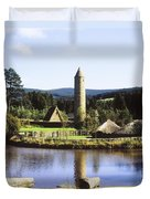 Ulster History Park, Omagh, County Duvet Cover by The Irish Image Collection