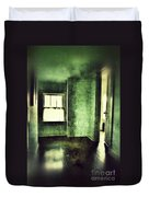 Upstairs Hallway In Old House Duvet Cover by Jill Battaglia