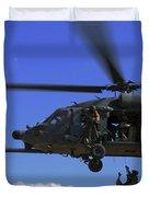 U.s. Air Force Pararescuemen Duvet Cover by Stocktrek Images