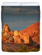Valley Of Fire - Picturesque Desert Duvet Cover by Christine Till