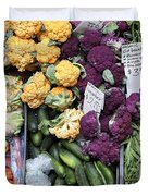 Variety Of Fresh Vegetables - 5d17900 Duvet Cover by Wingsdomain Art and Photography