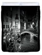 Venice Evening Duvet Cover by Madeline Ellis