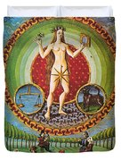 Venus Ruler Of Taurus And Libra Duvet Cover by Photo Researchers