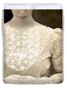 Victorian Dress Duvet Cover by Joana Kruse