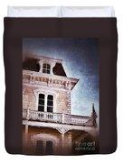 Victorian House Duvet Cover by Jill Battaglia