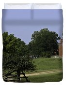 View of Appomattox Courthouse 1 Duvet Cover by Teresa Mucha