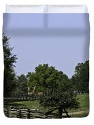 View of Appomattox Courthouse 2 Duvet Cover by Teresa Mucha
