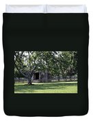 View Of Jones Law Offices Appomattox Virginia Duvet Cover by Teresa Mucha