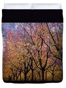 View Of Prague From Mala Strana Park Duvet Cover by Axiom Photographic