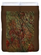 Vines And Twines  Duvet Cover by Jerry Cordeiro