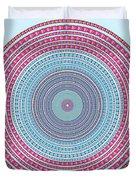 vintage color circle Duvet Cover by ATIKETTA SANGASAENG