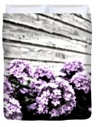 Vintage Flowers Duvet Cover by Tamyra Ayles