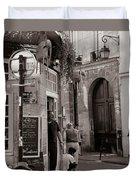 Vintage Paris1 Duvet Cover by Andrew Fare
