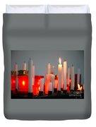 Votive Candles Duvet Cover by Gaspar Avila