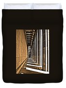 Walhalla Colonnade ... Duvet Cover by Juergen Weiss