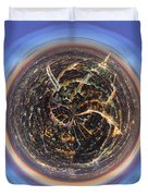 Wee Paris Twilight Planet Duvet Cover by Nikki Marie Smith