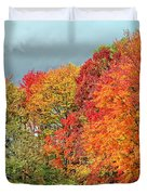 West Virginia Maples 2 Duvet Cover by Steve Harrington